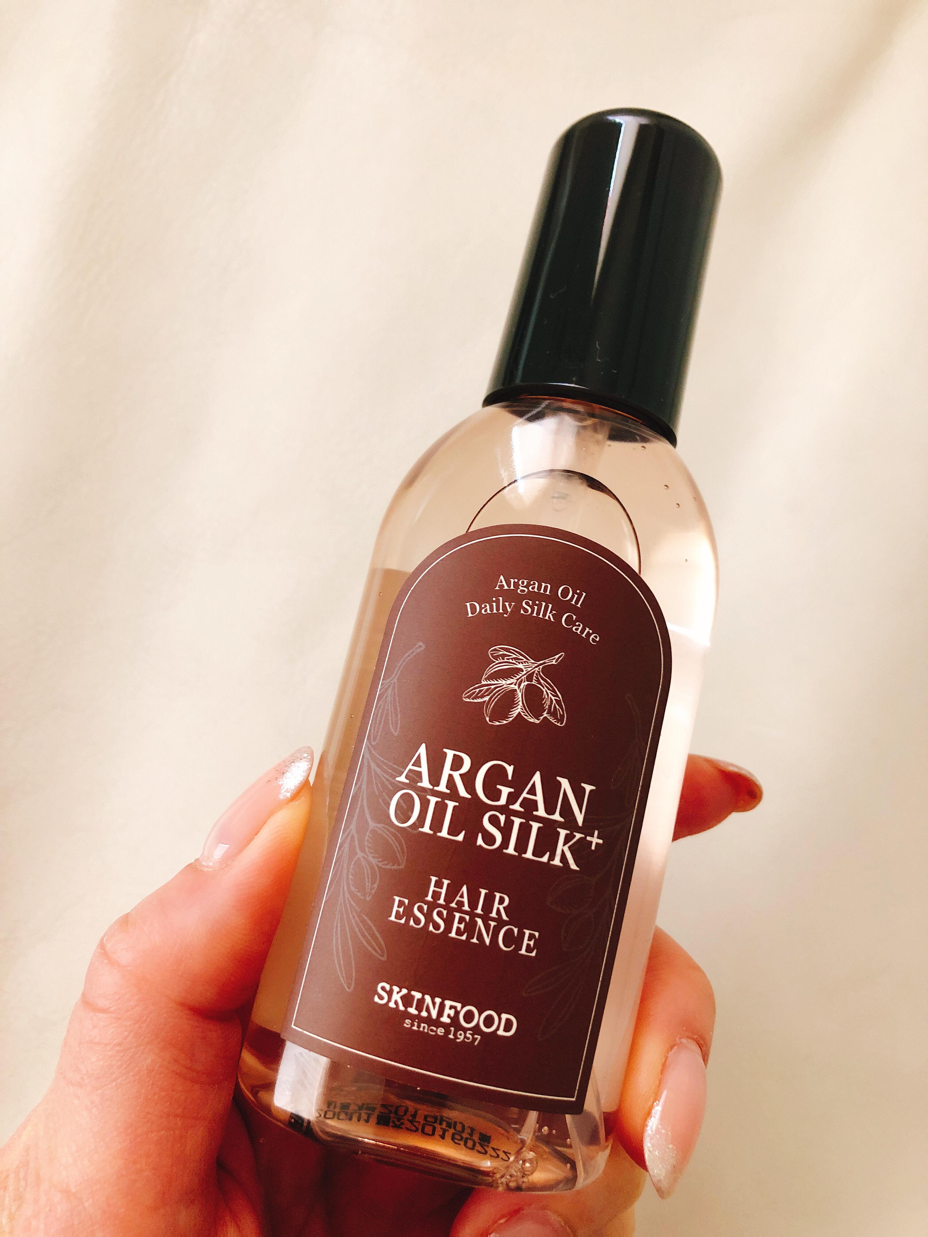 シルクのような美しい髪へと導く アルガンオイルのヘアエッセンス